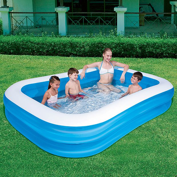Pool Aus Container H2ogo Rectangular Family Pool