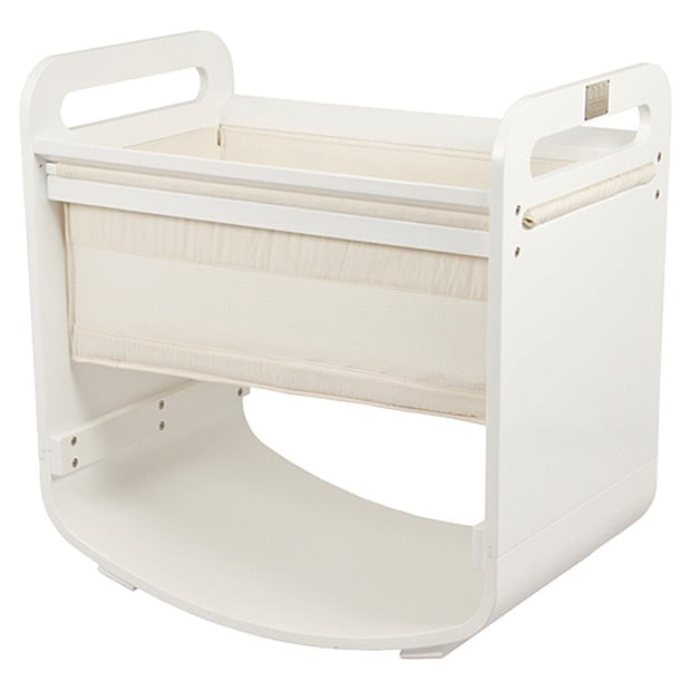 Baby Cradle Dimensions Nature S Purest Crib White