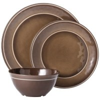 Melamine 12pc Dinnerware Set - Threshold | eBay