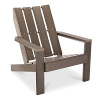 Bryant Faux Wood Patio Adirondack Chair - Threshold   eBay