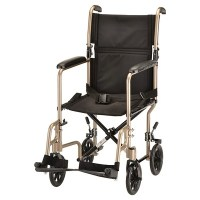 "Nova 19"" Steel Transport Chair | eBay"