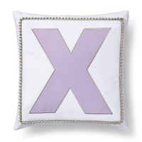 Pom Pom Monogram Pillow Cover - Pillowfort | eBay