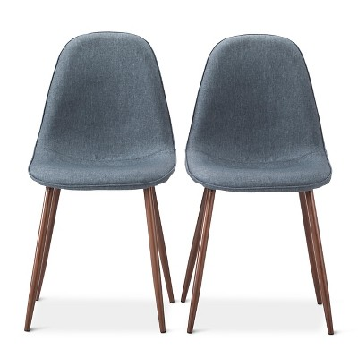 Porter mid century modern dining chairs set of 2 target