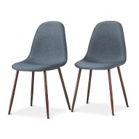 Porter Mid Century Modern Dining Chairs (Set of 2) : Target