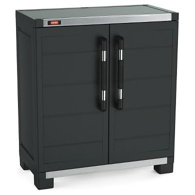 Xl Pro Ready-To-Assemble Garage Storage Cabinet Set - Black