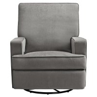 Baby Relax Addison Swivel Gliding Recliner - Gray : Target