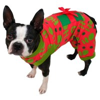 Christmas Present Dog Pajamas - Wondershop Red : Target