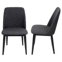 Tintori Mid Century Modern Dining Chair (Set Of 2)... : Target