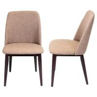 Tintori Mid Century Modern Dining Chairs Wood/Espresso ...