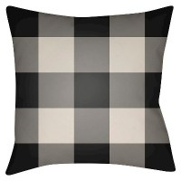 Flannel Throw Pillow - Surya : Target
