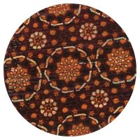 Loloi Aria Accent Rug - Red (3' Round) : Target