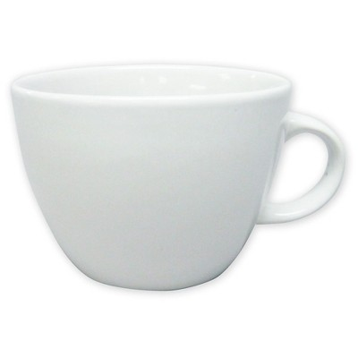 Coupe White Coffee Mug 16oz