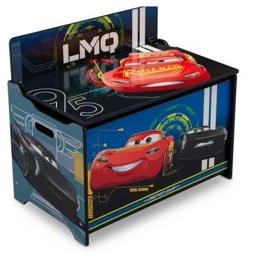 Delta Children Disney Pixar Cars Deluxe Toy Box Target