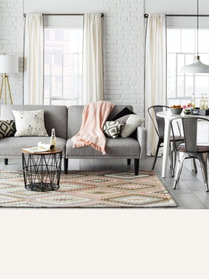 Living Room With Grey Sofa Sofas Sectionals Target