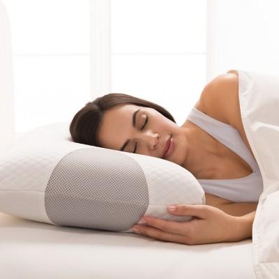 Biosense Pillow Brookstone Biosense Neck Travel Pillow
