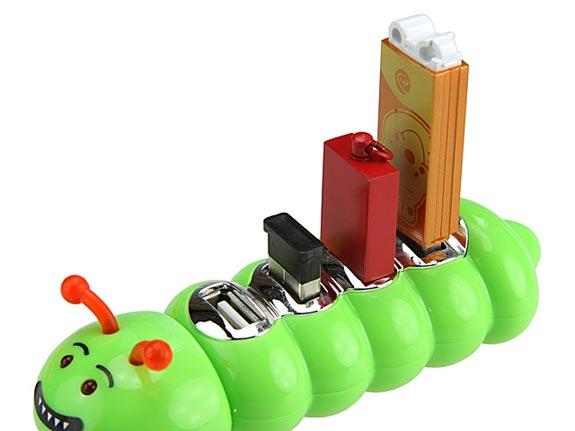 caterpillar usb hub 31 [pra descontrair] Hubs USB inusitados, de 29/06.