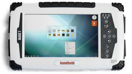 algiz 7 02 09 2010 [tablet pc] Handheld Algiz 7, um tablet para você usar na praia... ou no meio de uma guerra