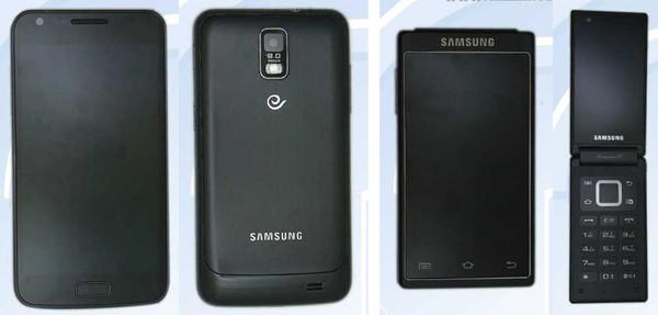 samsung china duo 10272011 Samsung SCH i929 e SCH W999, novos telefones revelados na China