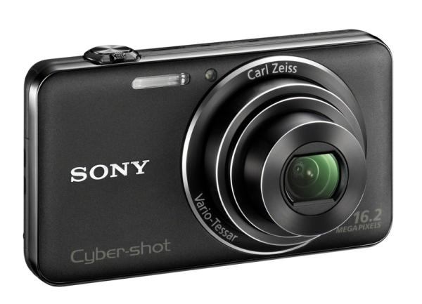 2012 01 0810dsc wx50blackleftcc Novas câmeras Cyber shot da Sony, WX50 e WX70