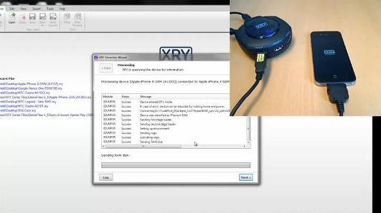 xryiphone 1332986121 Empresa de segurança afirma que pode detectar a senha do iPhone em menos de dois minutos