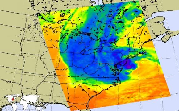 701457main1 airs20121029 673 580x360 Furacão Sandy derruba 25% das torres de celular em 10 estados atingidos nos Estados Unidos
