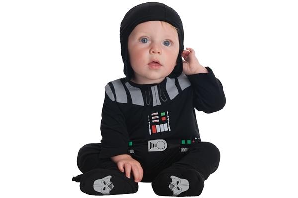Darth Vader Onesie Os mais estranhos nomes geeks para bebês em 2012 incluem Google e Jedi