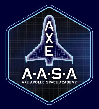 AXE AASA Badge Quer ir para o espaço? A AXE te leva para lá, com o Axe Apollo! É sério!