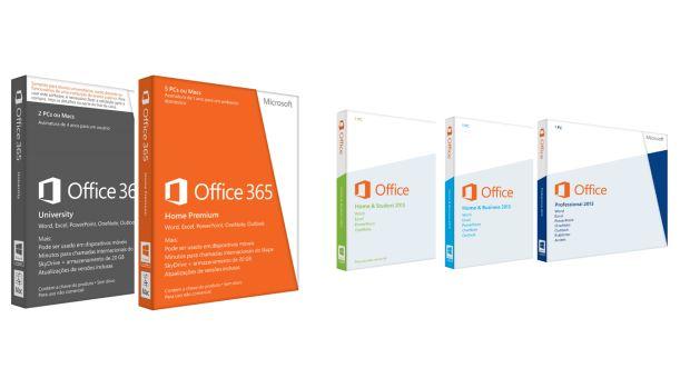 Edicoes Novo Office Novo Microsoft Office: 365, diversas versões e suas características