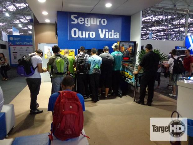 DSC00399 Banco do Brasil aposta nos games do passado na Campus Party Brasil 2013