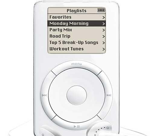 Original iPod O iPod completou 12 anos de vida