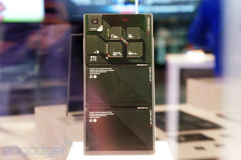 zte mod 001 1 CES 2014 | ZTE também terá o seu celular modular: o Eco Mobius