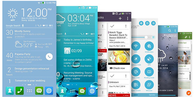 asus zenui design MWC 2014 | ASUS ZenUI, a nova interface de usuário da empresa para os seus dispositivos Android