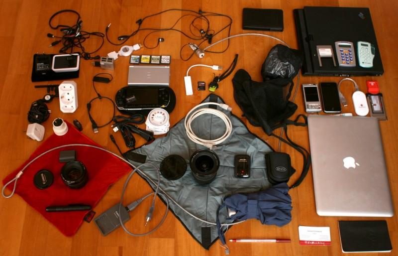 gadgets de mochila Especial | Os gadgets que não podem faltar na sua mochila
