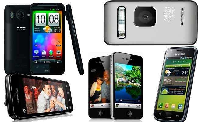 moviles2010 Seguem sendo competitivos os smartphones de 2010?