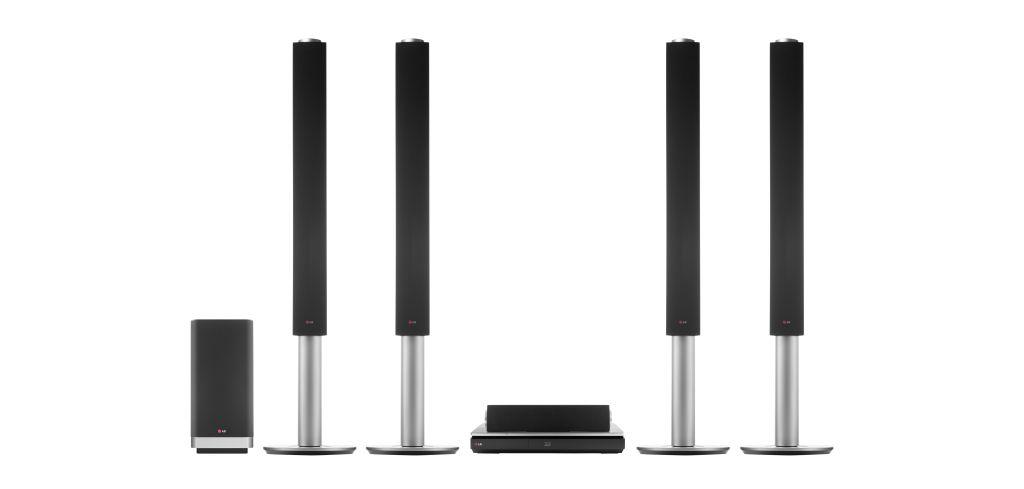 LG Home Theater BH9540TW LG Digital Experience 2014 | Home Theater com Blu ray UHD 3D 9.1 Canais BH9540TW é apresentado