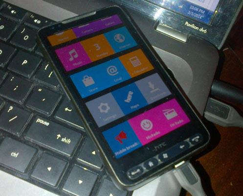 hd22 Nokia X Software foi portado para o HTC HD2