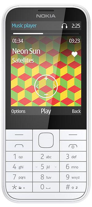 nokia 225 ss white mp3 Nokia 225 é anunciado oficialmente