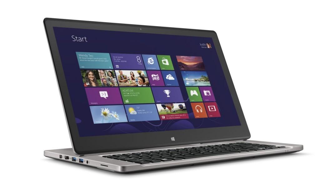 Acer Aspire R7 1024x616 Acer lança no Brasil os portáteis Aspire R7 e Aspire S7, com chip Haswell