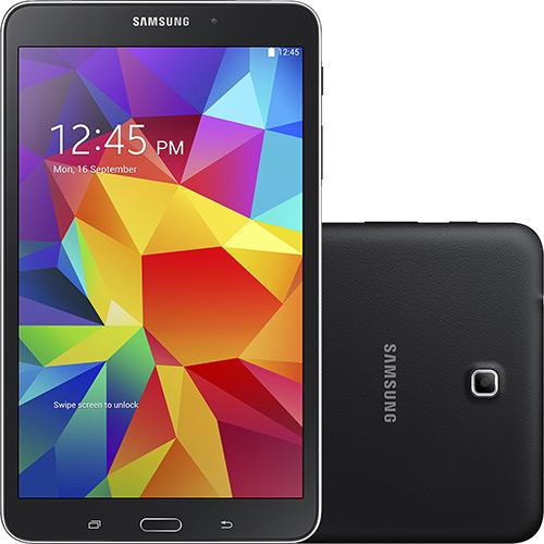 Samsung Galaxy Tab 4 T330 Preto Dicas de Compras | Samsung Galaxy Tab 4 16GB Wi fi + 3G Tela 8, por R$ 799