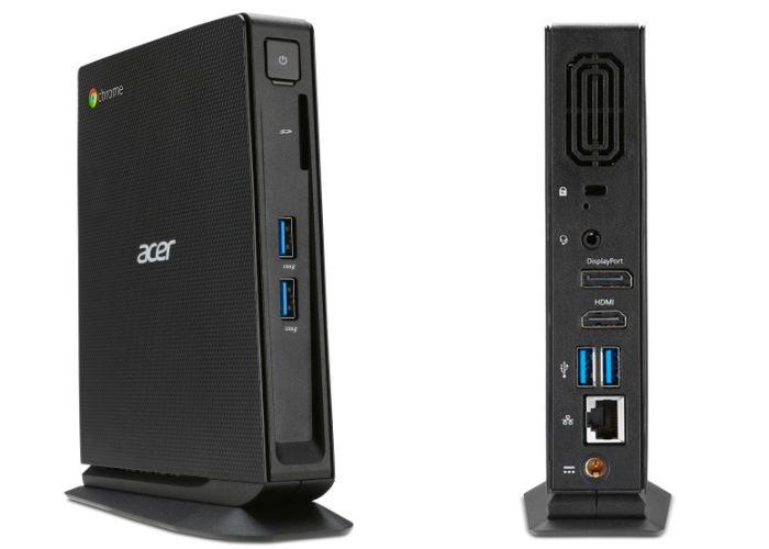 Acer Chromebox Acer Chromebox CXI será lançado em setembro