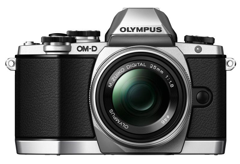 E M10 SLV front M2518 SLV Olympus traz para o Brasil linha versátil de câmeras digitais