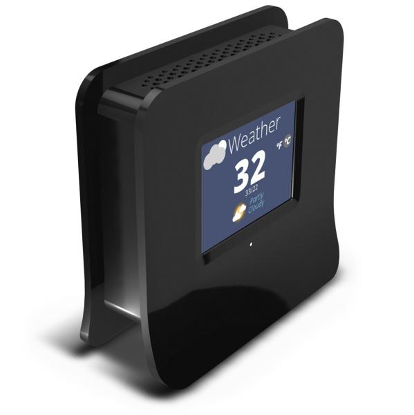 Almond Weather app TBrands traz ao Brasil o primeiro roteador touchscreen do mundo