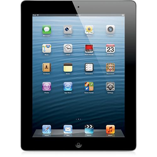 112337425 1GG Oferta do Dia | iPad 4ª Geração Wi Fi + 3G 16GB Preto, por R$ 1.149