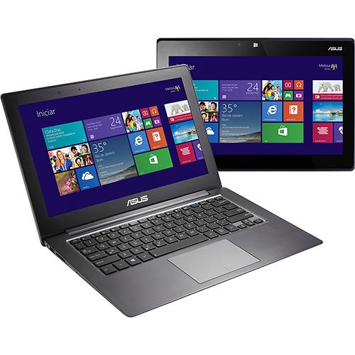 117974351 1GG Dicas de Compras | Ultrabook 2 em 1 Asus Taichi com Intel Core i5 4GB 256GB SSD LED 13,3 Touchscreen