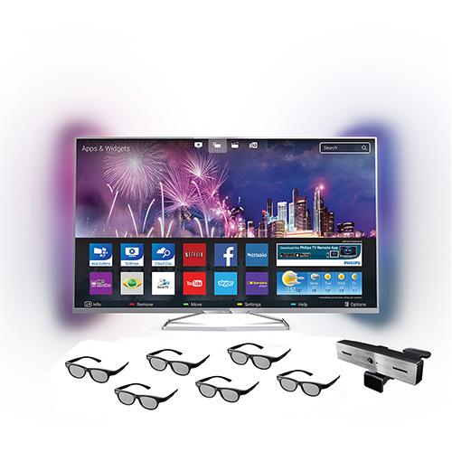 119979121 1GG Dicas de Compras | Smart TV 3D LED 42 Philips 42Pfg6809/78 Full HD 3 HDMI 2 USB, por R$ 1.661