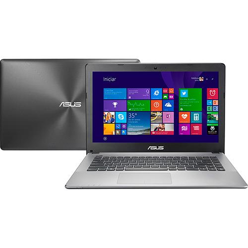 120201149 1GG Dicas de Compras | Notebook Asus com Intel Core i5 8GB 1TB Tela LED 14 Windows 8.1