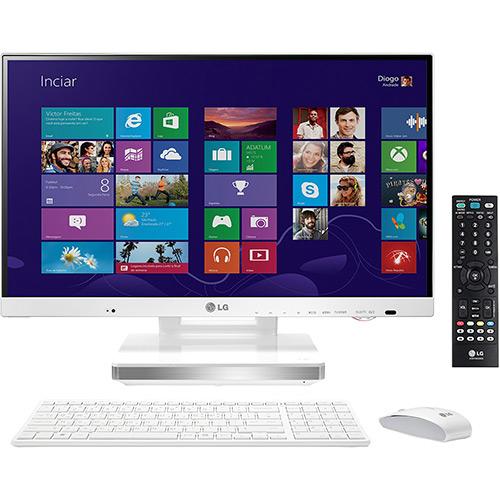 120263198 1GG Dicas de Compras | Desktop All in One LG V545 com Intel Core i5 4GB 500GB TV Digital LED 23