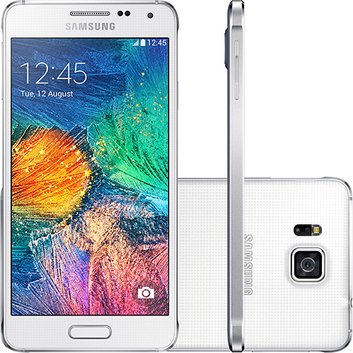 120781681 1GG Lançamento | Samsung Galaxy Alpha Branco