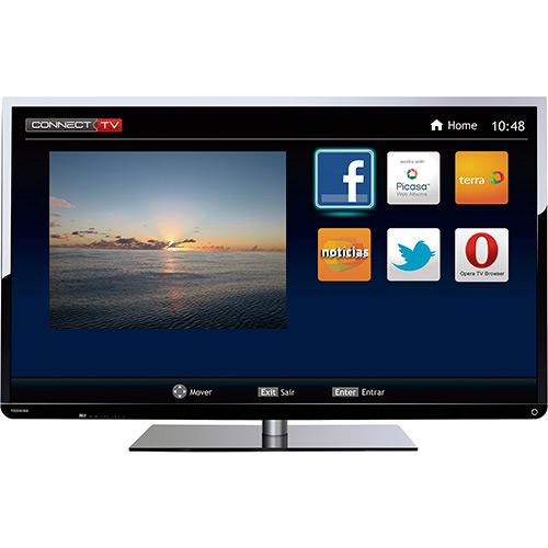 120853411 1GG Dicas de Compras | Smart TV LED 48 Semp Toshiba 48L2400, por R$ 1.614