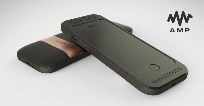 cpopn 1 Som HiFi no seu iPhone através de um case com placa de som integrada